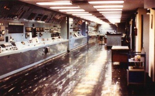 12) Plutonium separation plant control room