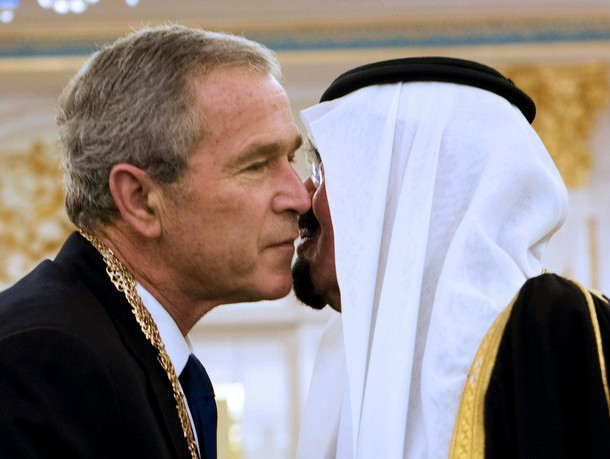 SAUDI-US-BUSH-KING-AWARD
