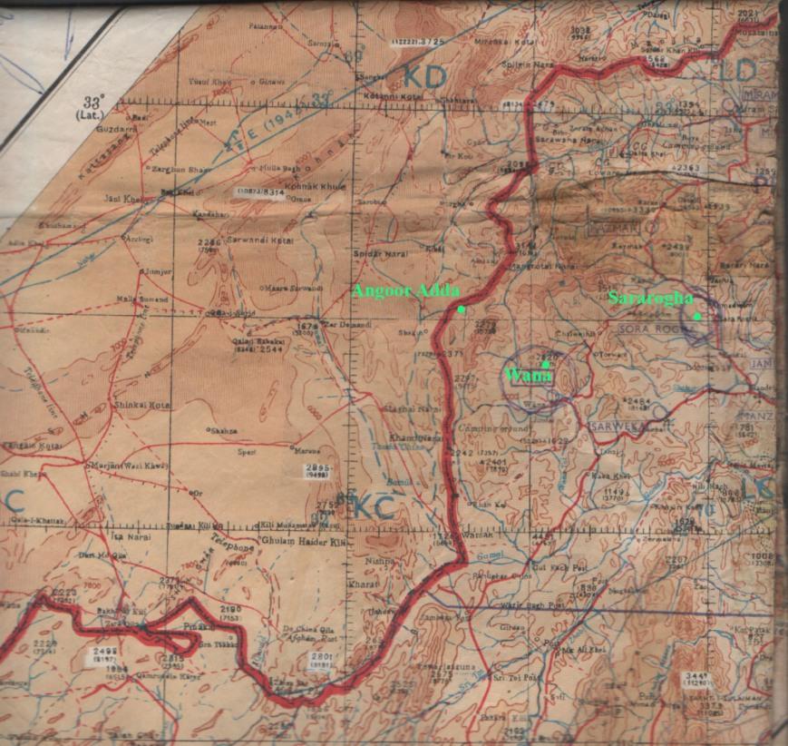 wana map