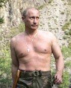 PutinShirtless