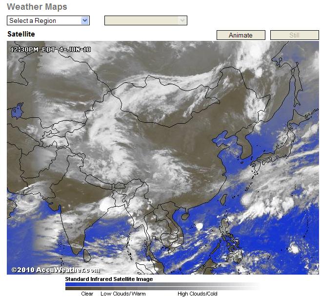 FireShot Pro Capture AccuWeathercom Pakistan Weather - Satellite weather map