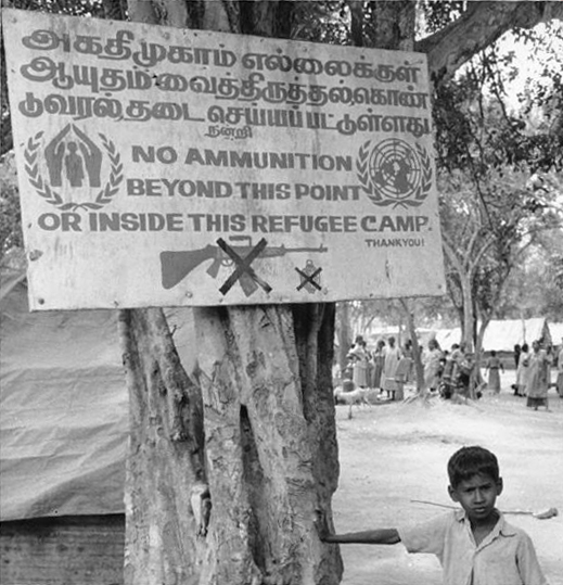UN Refugee Camp Sign2