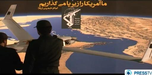 Iran captured a US ScanEagle drone