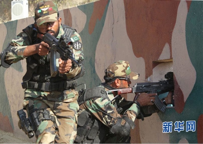 Pakistan China Joint Military Exercise YOUYI-IV III II I V Pakistani Special Services Group (SSG) w n People's Liberation Army Special Operations Forces (Zhōngguó tèzhǒng bùduì)Low I (6)