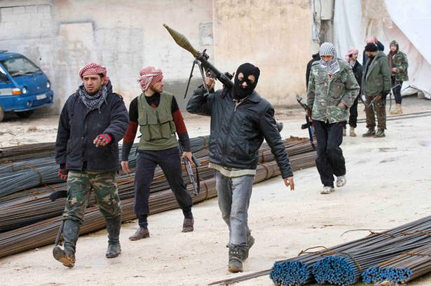 Foreign Syrian Terrorists the US government is funding and calling freedom fighters