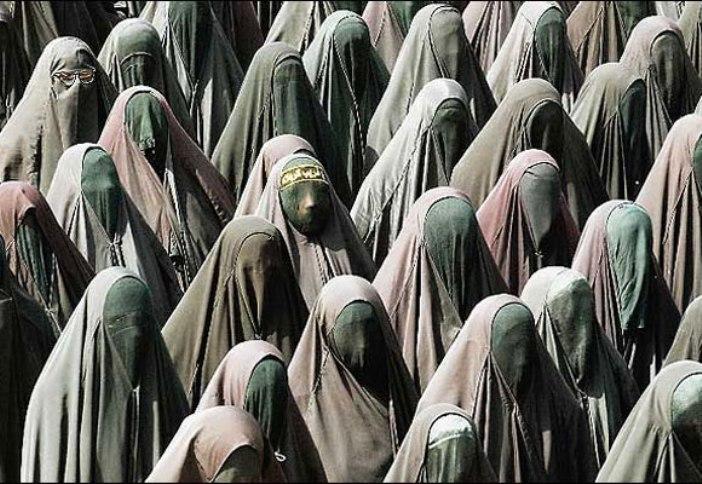 burka mob