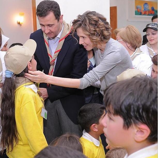 Mr. and Mrs. Bashar Al-Asad