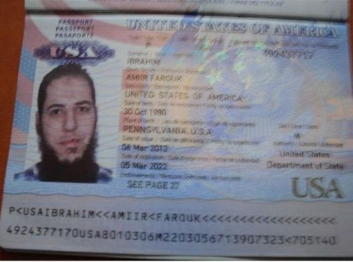 US PASSPORT AL NUSRA