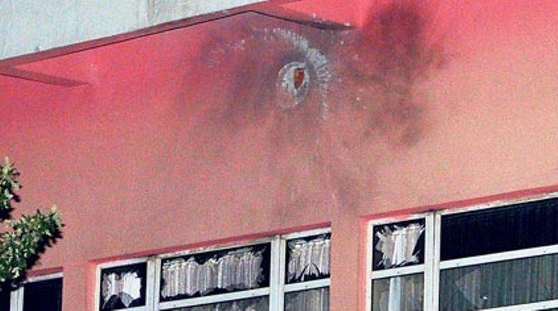 ankara police station rocket attack