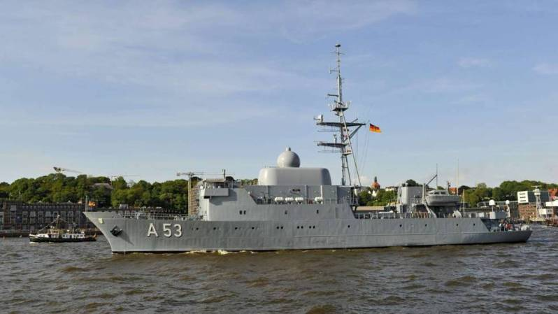 Oker German spy ship