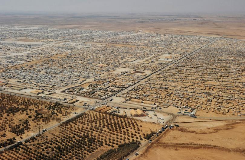 syrian refugee camp jordan