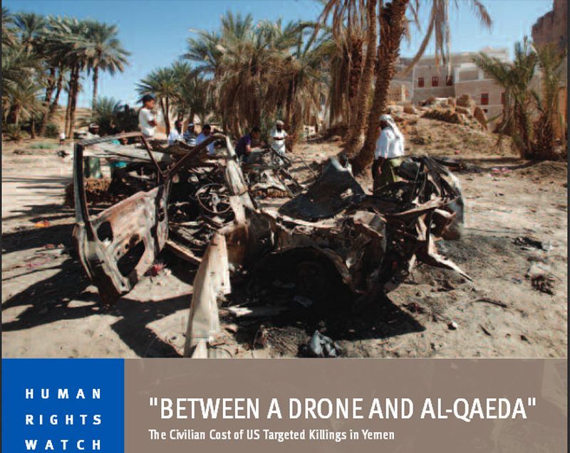 Between A Drone and al-Qaeda
