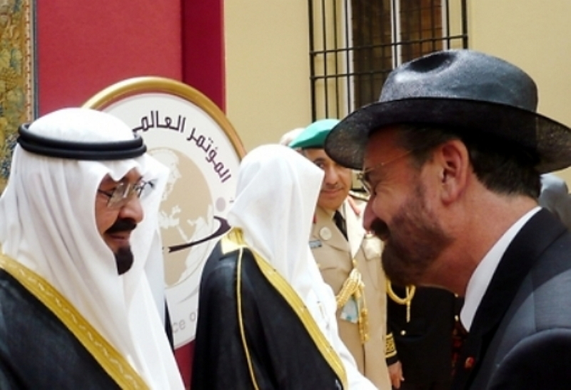 Rabbi David Rosen meets Saudi King Abdullah