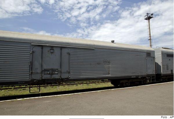 refrigerated train car