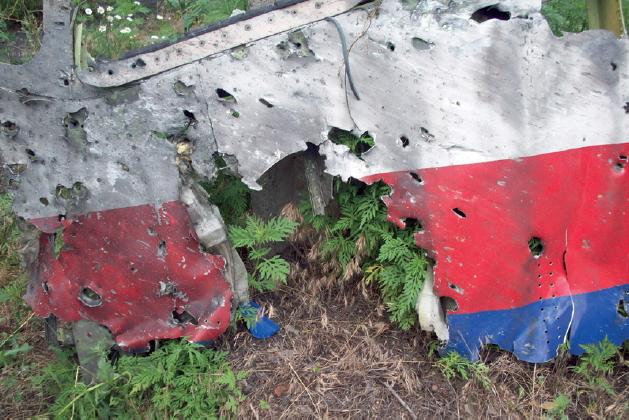 mh 17 cockpit holes