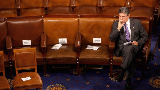 Sen Joe Manchin Alone In the Senate