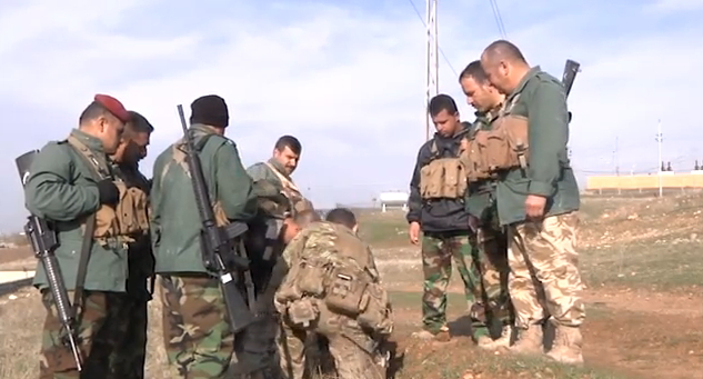 brits training peshmerga
