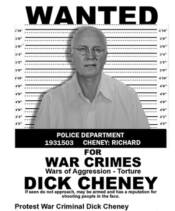 CheneyWanted2011Poster