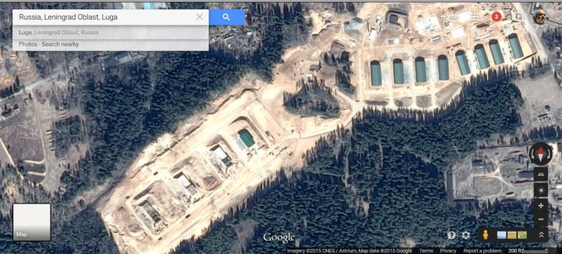Luga, Russia alleged cruise missile battery2