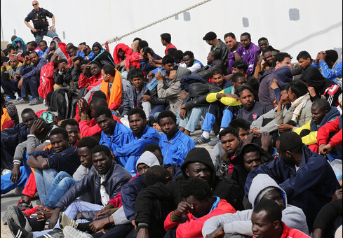 AFRICAN REFUGEES IN ITALY