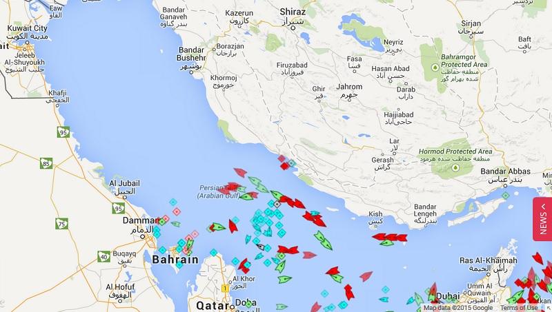 persian gulf may 7