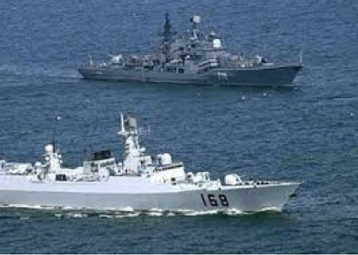 Russian-Chinese Naval Exercises