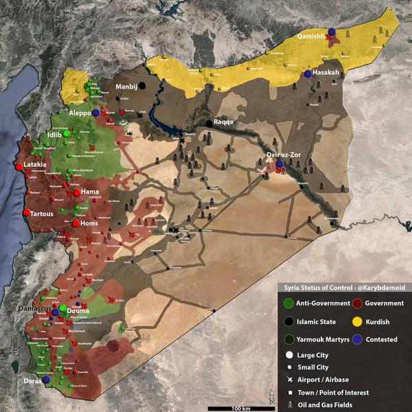 syria status of forces map 6 30