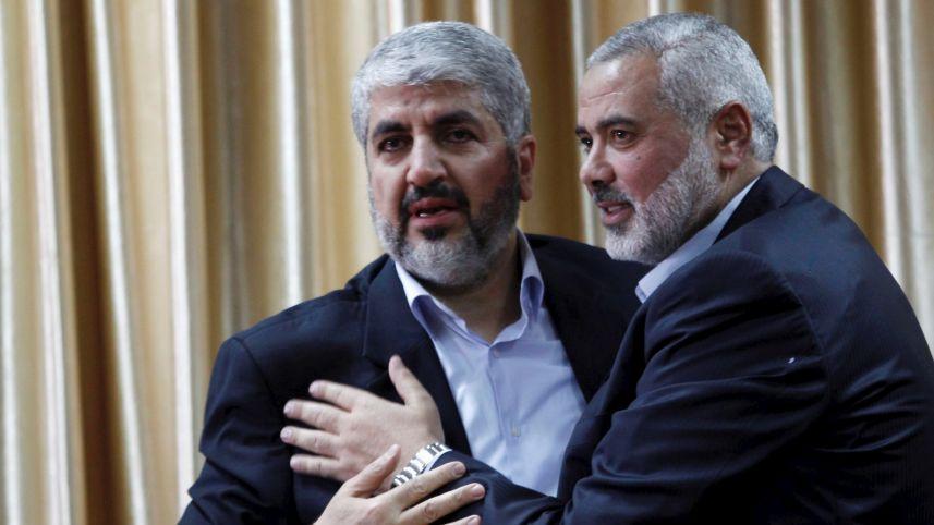 Hamas chief Khaled Meshal