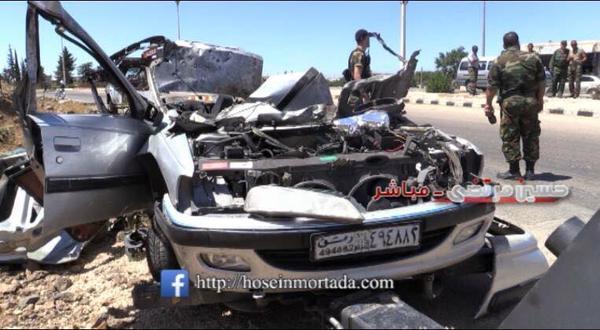 idf car syria