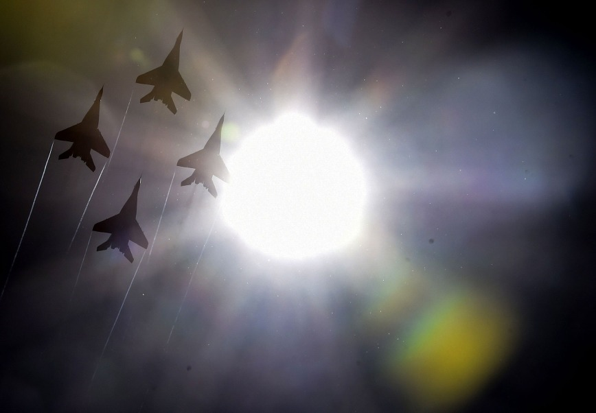 russian fighters