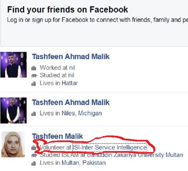 tashfeen malik facebook