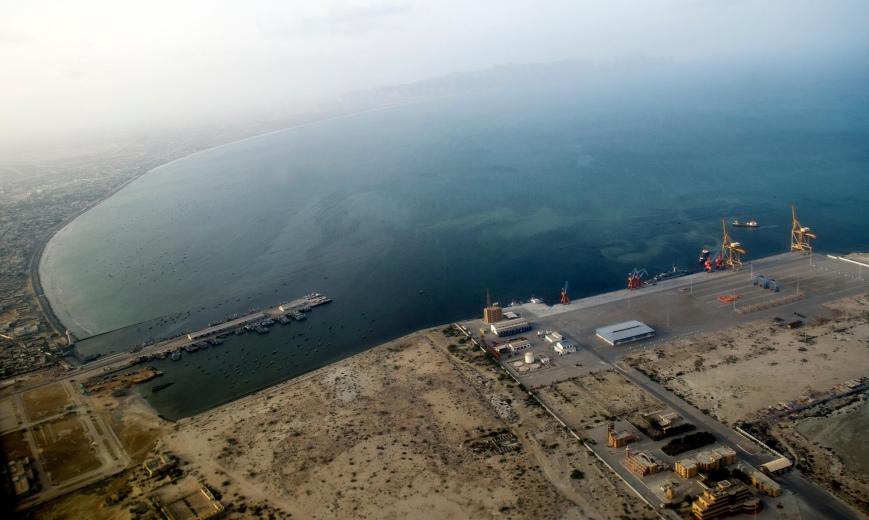 gwadar port aerial