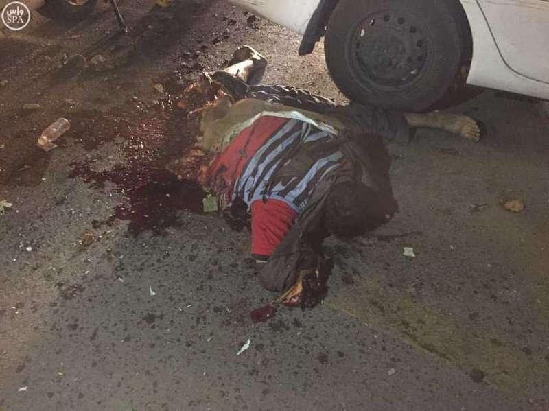 suicide bomber feet