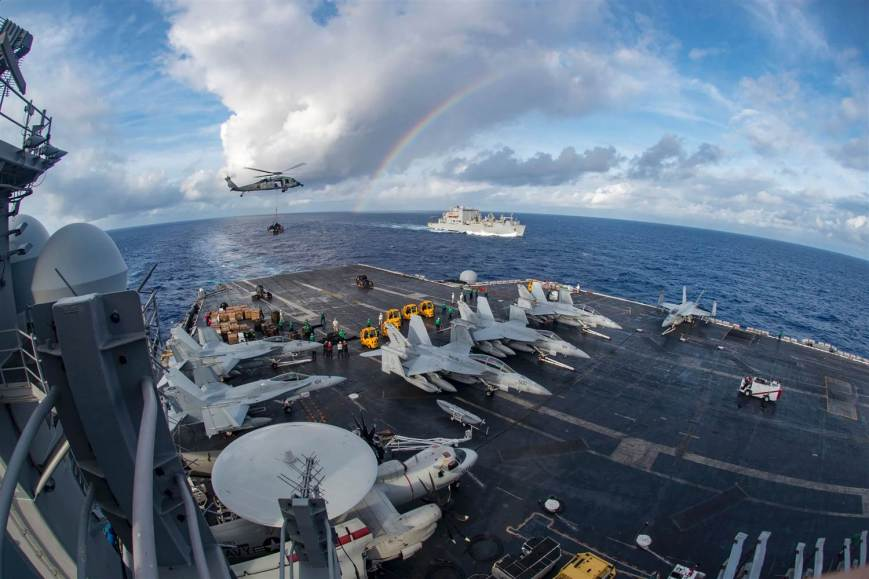 aircraft-carrier-uss-carl-vinson-participating-in-a-vertical-replenishment-at-sea